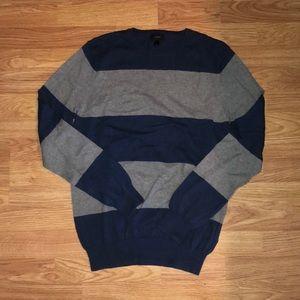 Navy/Grey J.Crew Sweater